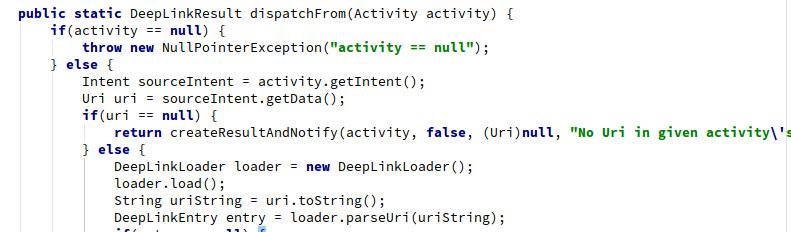DeepLink用法及原理解析